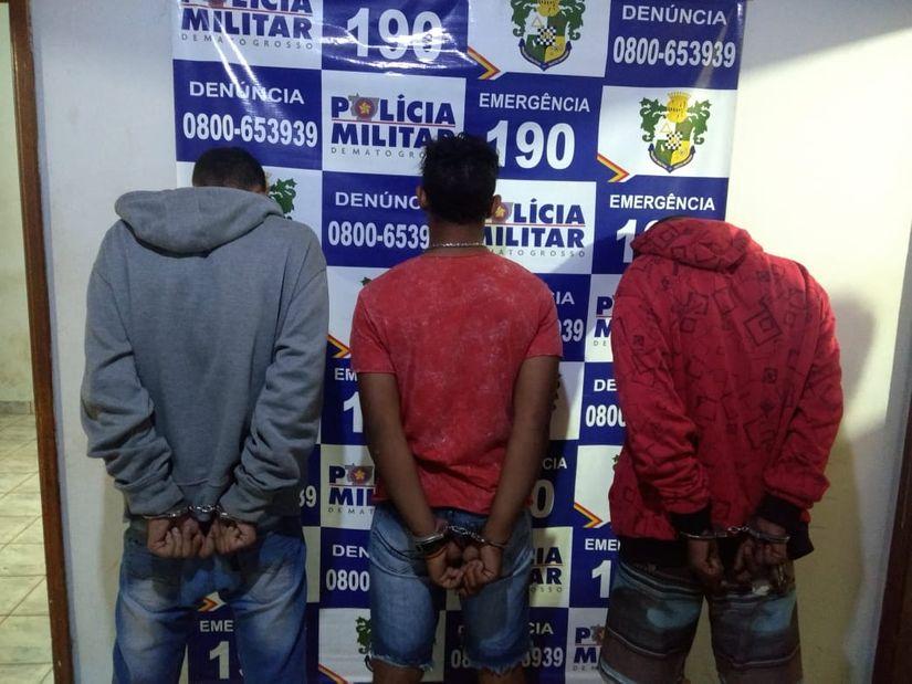 Idosa é agredida por bandidos durante roubo a residência; suspeitos são presos
