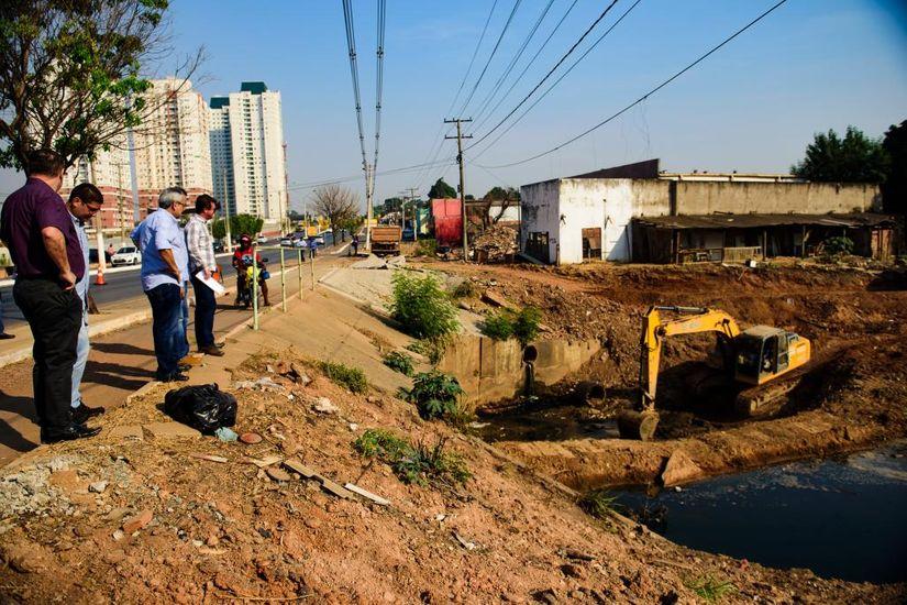 Obras da Avenida do Barbado e COT UFMT serão entregues até o final deste ano