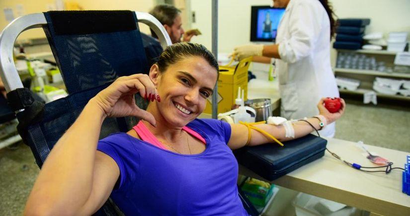 Hemocentro divulga calendário de novembro para coletas de doação de sangue em Cuiabá