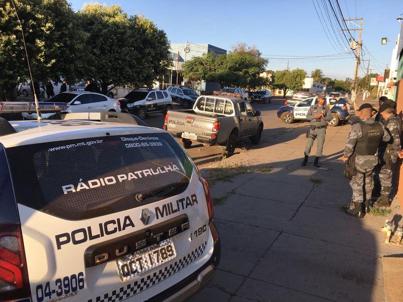 Operação de combate ao tráfico de drogas é desencadeada pelas polícias Civil e Militar