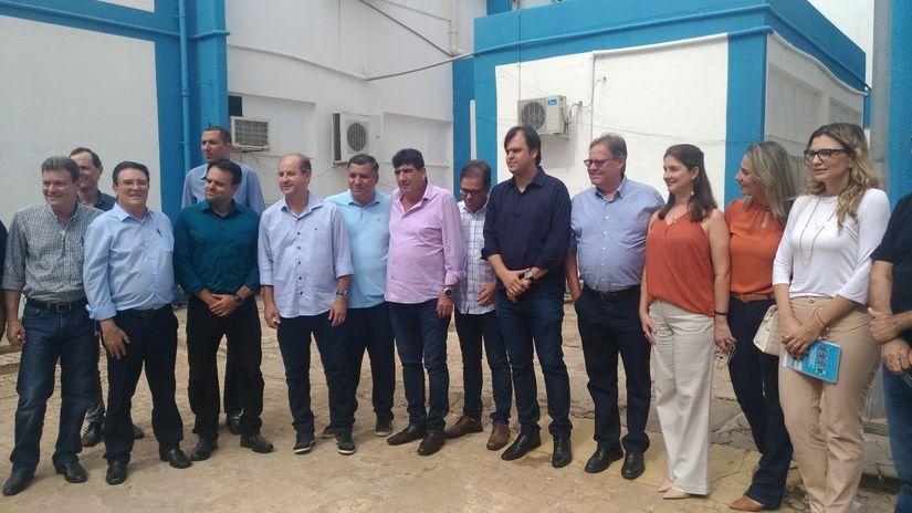 Delegado Claudinei participa de visita técnica em Unidades de Saúde de Rondonópolis