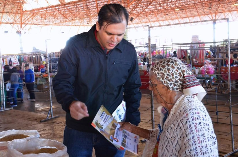 Deputado Thiago Silva visita comunidades e faz prestação de contas