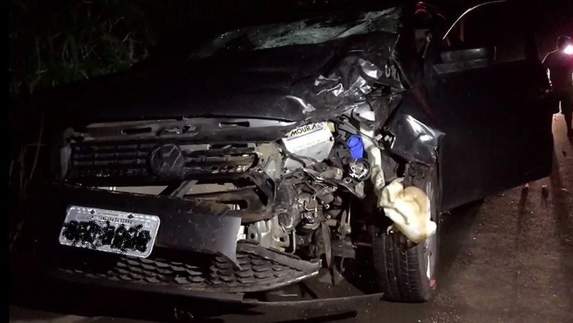 Motociclista morre após ser arremessado a cerca de 30 metros após colidir com carro em MT