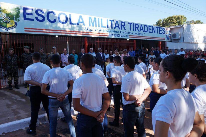 Escola Militar de Rondonópolis abre inscrições para seleção de alunos