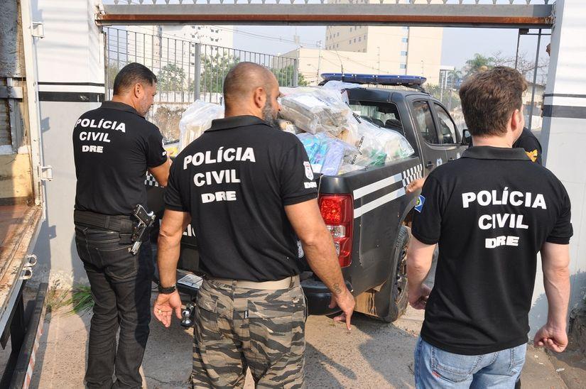 Polícia Civil incinera 2 toneladas de drogas apreendidas em Cuiabá e Várzea Grande