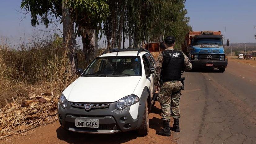 Operação realiza ações repressivas e preventivas de combate à criminalidade no interior do Estado