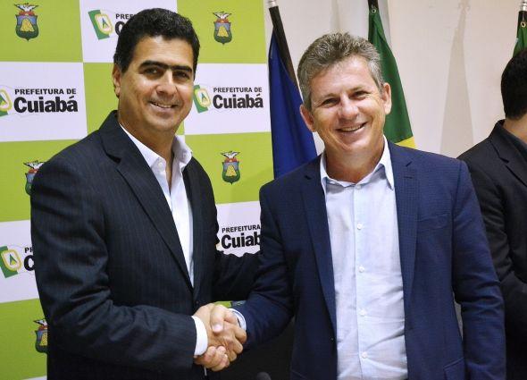 Mauro Mendes e Emanuel Pinheiro entram em guerra política