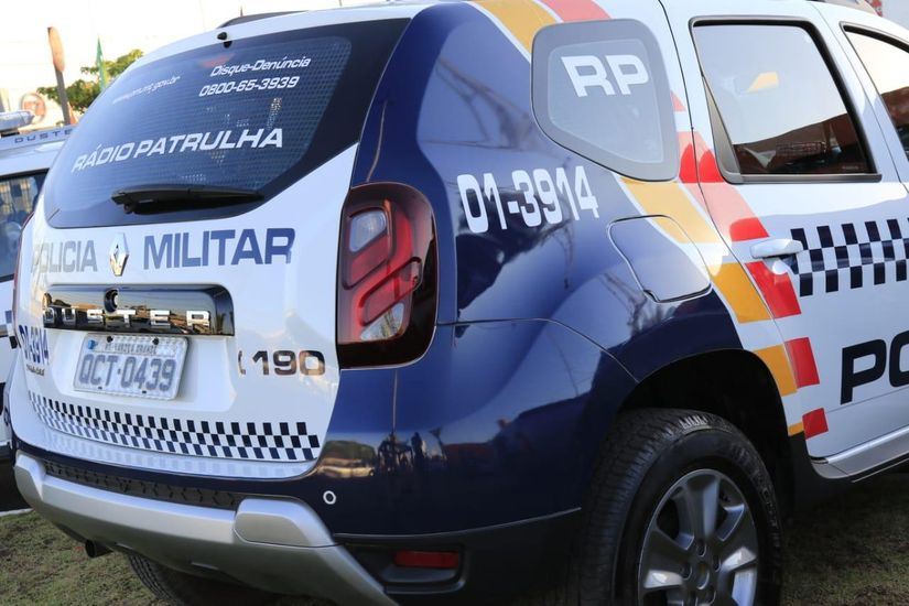 Viatura da Polícia Militar   Daffiny Delgado / GazetaMT