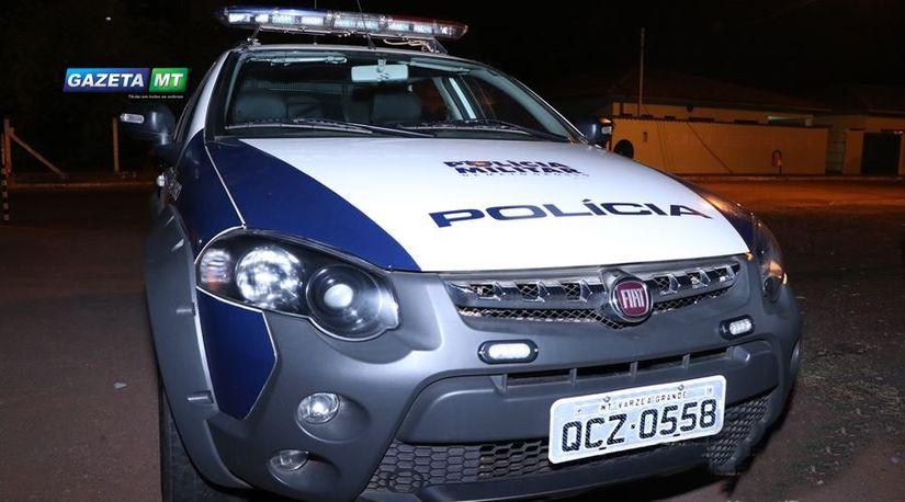 Viatura da Polícia Militar   Messias Filho / GazetaMT