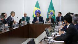 Durante a reunião com o Bolsonaro, eles também defenderam a recriação do Ministério da Segurança Pública Imagem: Carolina Antunes/PR