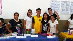 Os alunos foram elogiados na apresentação     Imagem: Divulgação