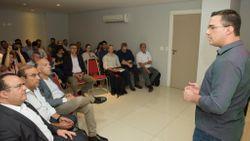 Apresentação da Cadeia de gás natural (GNL) para diretoria do Sindmatt Imagem: Marcos Vergueiro/Secom-MT