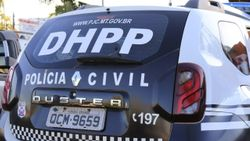 Viatura da DHPP    Imagem: Daffiny Delgado / GazetaMT