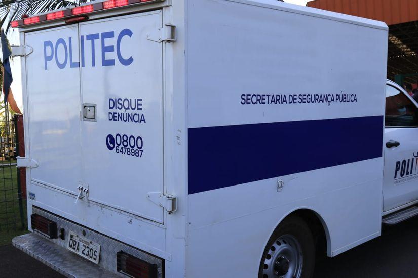 Perícia Oficial Técnica (Politec)   Imagem: Daffiny Delgado / GazetaMT