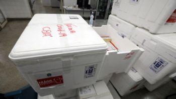 Cuiabá recebe vacinas de Oxford/AstraZeneca  Imagem: Reprodução / Secom