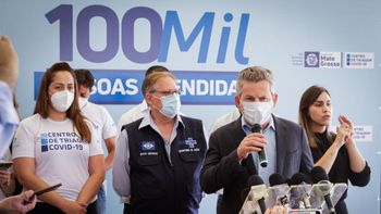 O governador Mauro Mendes - Imagem: Reprodução Michel Alvim / SECOM