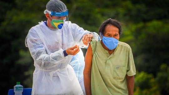Vacinação contra a Covid-19 em tribos indígenas na Amazônia -André Oliveira,/Ministério da Defesa
