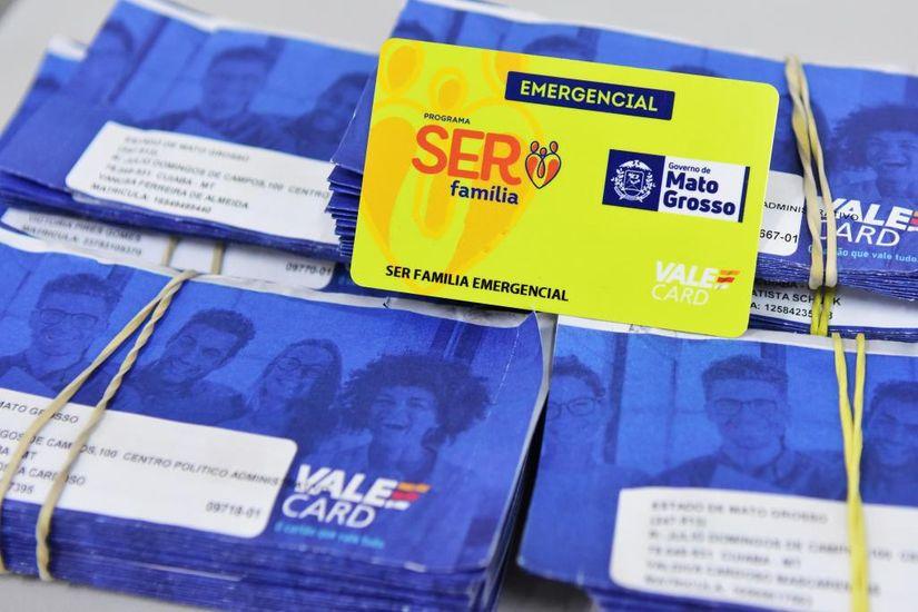 Cartão Ser Família Emergencial - Foto por: João Reis