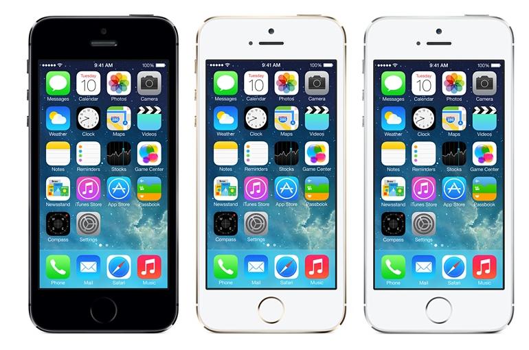 iPhone 5s Foto:Divulgação/Apple