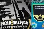 Mulher é presa em MS com arsenal que seria comercializado em Rondonópolis