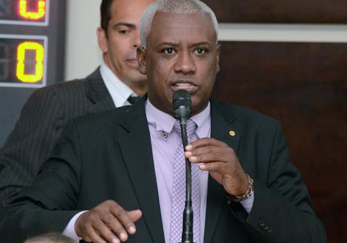 Adonias Fernandes, vereador e presidente da comissão de orçamento da casa, foi um dos parlamentares que elogiou a iniciativa. Foto - Luan Dourado