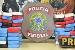 PF apreende 85 kg de cocaína no Rio de Janeiro