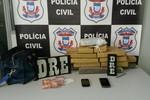 Duas mulheres foram presas com 17 kg de maconha em quarto de motel