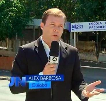 """Jornalista considerado """"chefe"""" da equipe. Foto: Reprodução"""