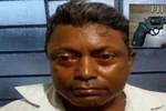 Homem suspeito de tentativa de homicídio é detido com revólver