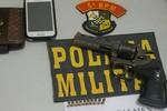 Polícia Militar prende dupla suspeita de assaltos na região Salmen