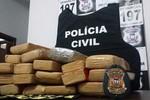 Três são detidos com 17 kg de maconha em Lucas do Rio Verde