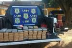 Casal é preso com 65 kg de cocaína na BR-070