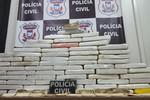 Traficante é preso com 65 kg de pasta base de cocaína
