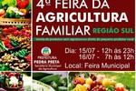 Produtores vão participar da 4ª Feira da Agricultura Familiar