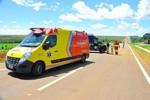 Motorista morre após caminhonete capotar na BR-163
