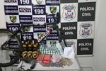 Polícias Civil e Militar prendem jovens envolvidos em furtos e receptação
