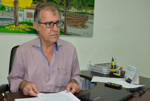 Secretário de Receita de Rondonópolis, destaca a correção de um erro por parte do IBGE, na divisa de Rondonópolis com Pedra Preta, na região da Nova Galileia Foto: Emerson Dourado GazetaMT