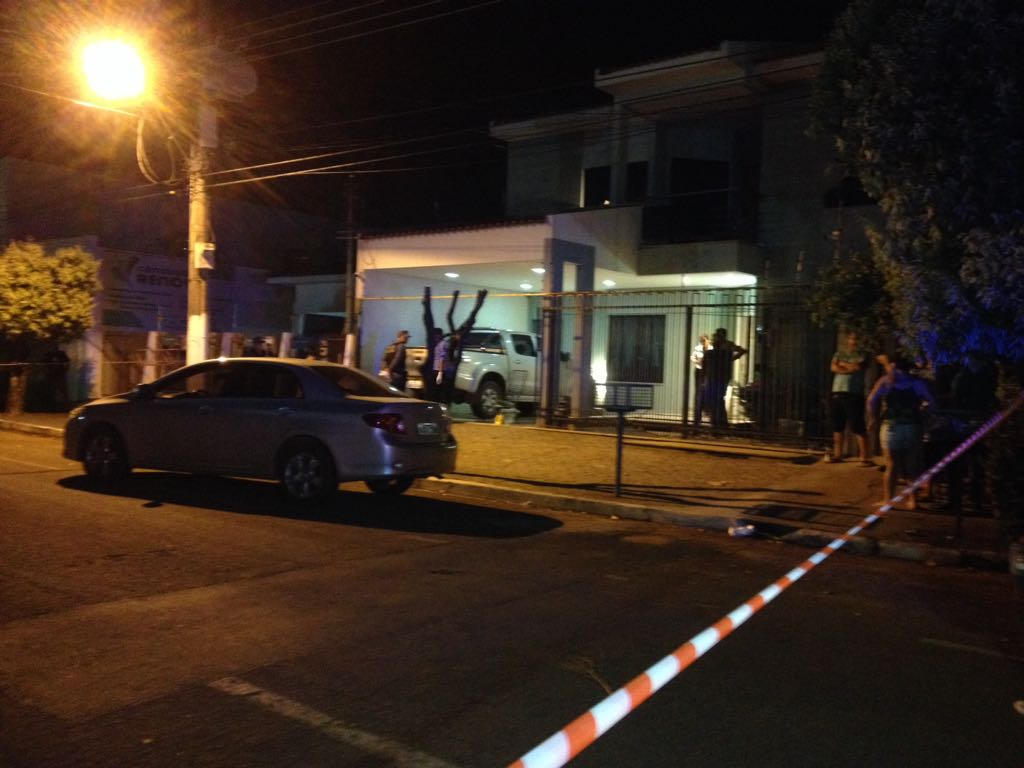 Casa onde ocorreu o crime. (Foto: Sirlei Alves/GazetaMT)