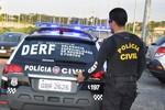 Mandante de tentativa de latrocínio tem prisão cumprida pela Polícia Civil