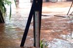 Rio Vermelho atinge nível de alerta, conforme Defesa Civil