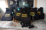 Governo entrega equipamentos para 14 unidades do Sistema Penitenciário