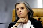 """""""Trabalho de Teori é para sempre"""", diz ministra Cármen Lúcia"""