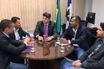 Vereadores são recebidos pelo senador José Medeiros em Brasília