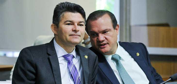 José Medeiros e Wellington Fagundes