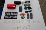PM apreende 104 pedras de pasta base de cocaína na região central de Rondonópolis