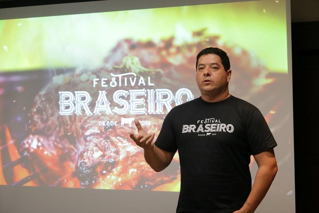 Marco Túlio Duarte Soares, idealizador do Festival Braseiro. (Foto: Fablício Rodrigues)