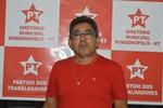 Juvenal Paiva é eleito novo presidente do PT Rondonópolis