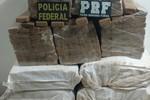 Mais de 275 kg de maconha são apreendidos pela PF e PRF em Itiquira
