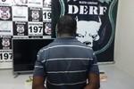 Homem é flagrado com drogas e preso por tráfico