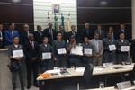 Equipe do Poerd recebe homenagem na Câmara Municipal